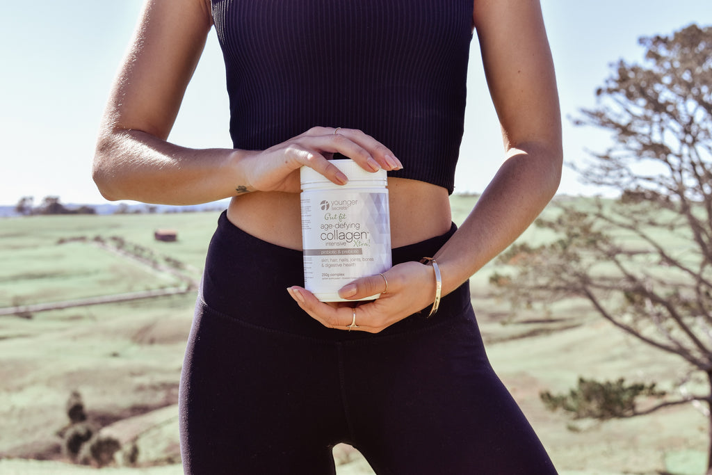 age-defying collagen™ Xtra! complete hydration repair pack (Choose Body Fit, Gut Fit, Turmeric, Supa-Greens, Stress Less or Kombucha)
