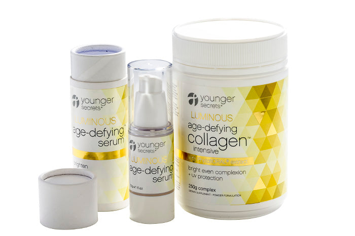 LUMINOUS Age-Defying Collagen™ Intensive         -  value pack - three months supply