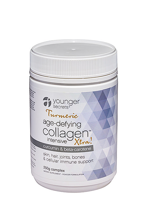 age-defying collagen™ intensive xtra! trio package - three months supply (choose any 3 from Gut fit, Body fit, Turmeric or Supa-Greens)