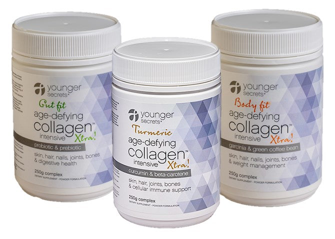 age-defying collagen™ intensive xtra! trio pack - three months supply