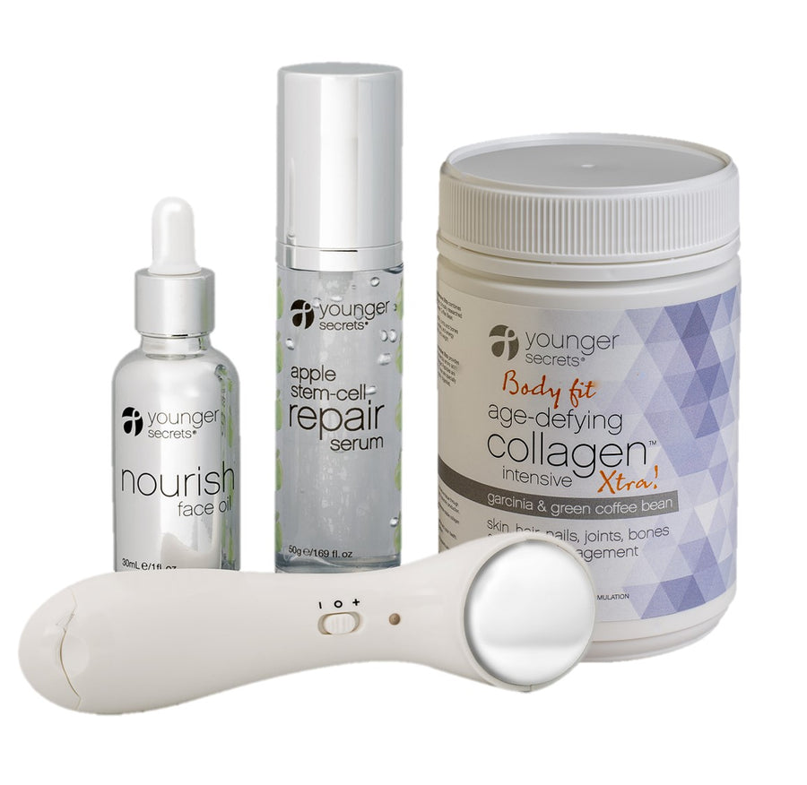 Body fit age-defying collagen™  complete hydration repair pack