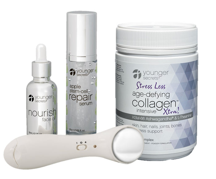age-defying collagen™ Xtra! complete hydration repair pack (Choose Body Fit, Gut Fit, Turmeric, Supa-Greens or Stress Less)