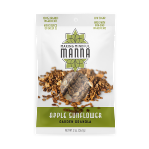 Load image into Gallery viewer, Apple Sunflower Garden Granola 2 oz.
