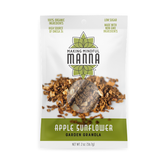 Apple Sunflower Garden Granola 2 oz.