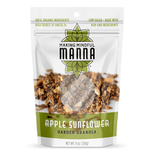 Apple Sunflower Granola