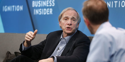 Ray Dalio on the next financial crisis, how he started his own hedge fund, transparency at work, and more.