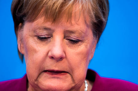 Merkel loses key ally in conservative rebellion.
