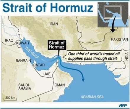 Iran Threatens To Close Strait Of Hormuz If US Blocks Its Oil Exports.