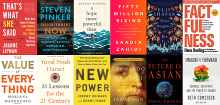 The World Economic Forum Book Club – 12 months, 12 great books.