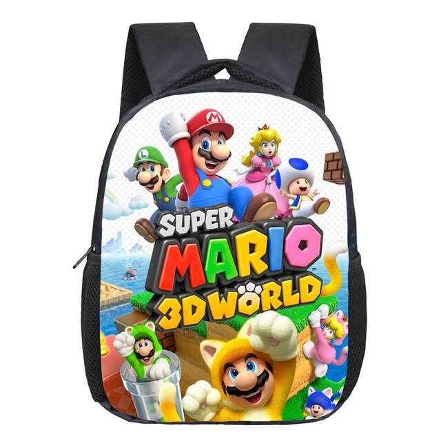 Mario & Sonic Children's Backpack