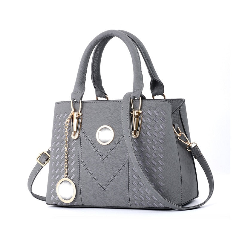 HENGSHENG 2019 Summer Trendy New Bags  European and American Bags of Fashionable Women's Bags  Slant Shoulder Handbag ZF9585
