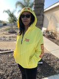 WINDBREAKER  YELLOW/RED