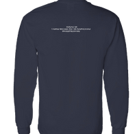 I can't be nobody else  NAVY/WHITE LONG SLEEVE