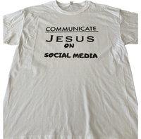 Communicate Jesus White/Black