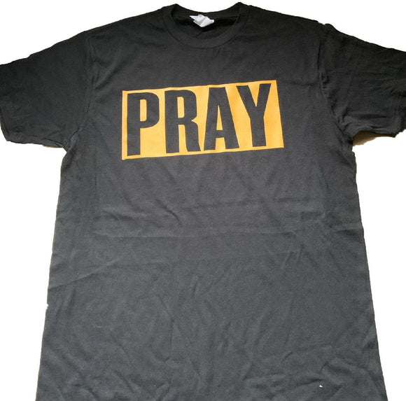 Pray (Bold) Black/Yellow