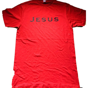 JESUS (SIMPLE)RED/BLACK