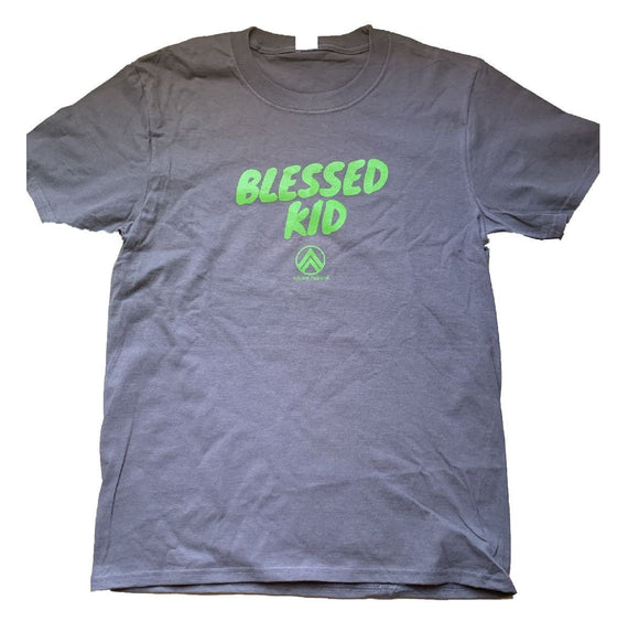 kids grey/green blessed kid