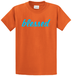 BLESSED 555 ORANGE/BLUE