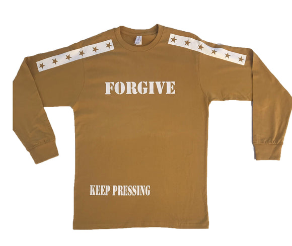 FORGIVE MUSTARD YELLOW/WHITE L/S