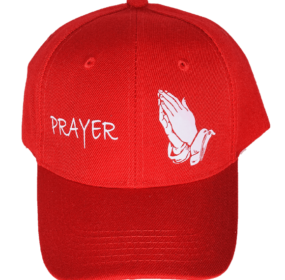 Prayer CAP Red/White
