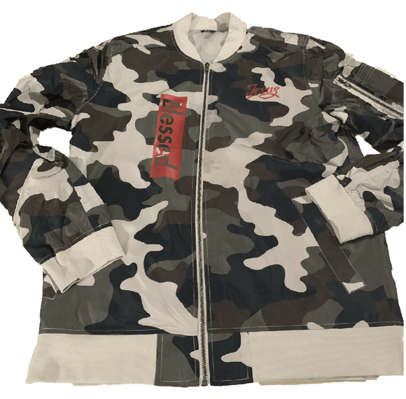 Camo jacket RED Print