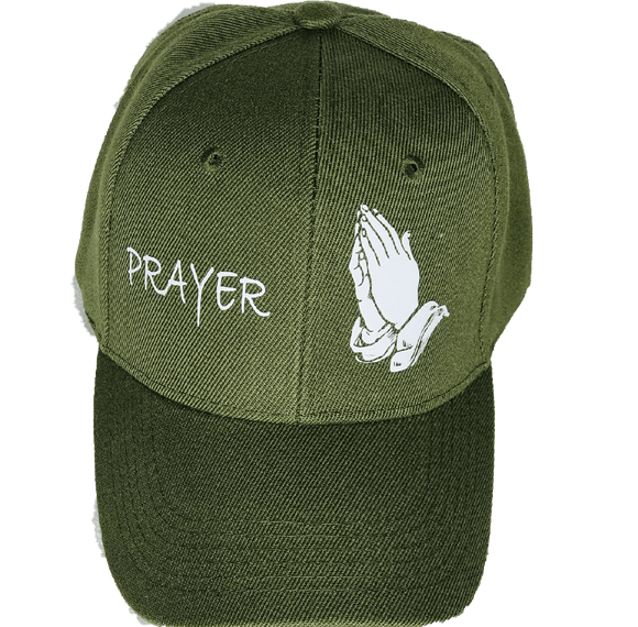 Prayer CAP Green/White