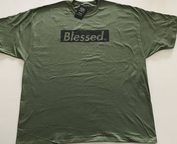 Blessed Green/Black 3X only
