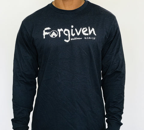 FORGIVEN Blue/White Long sleeve