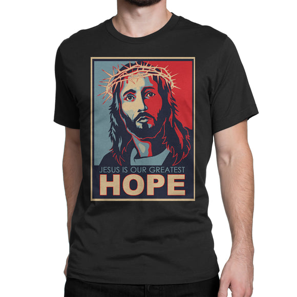 black T-shirt HOPE