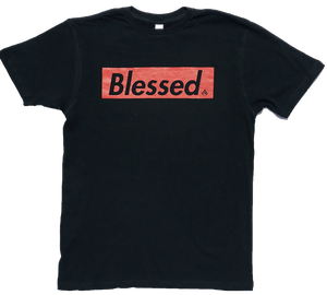 Blessed Black/Red T Shirt