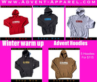5 hoodies for $100