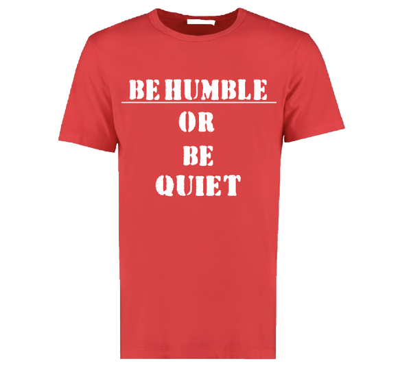 Be Humble  Red /White