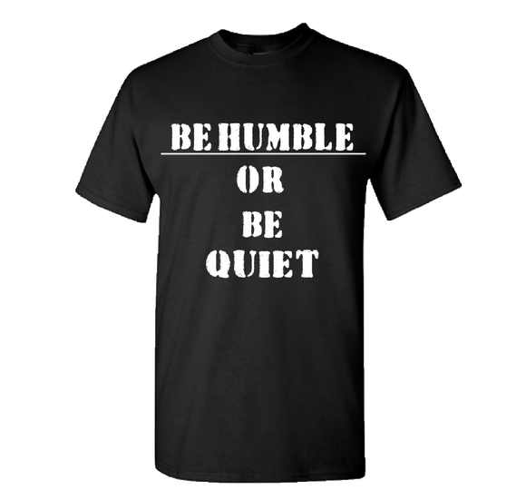 Be Humble Black/White