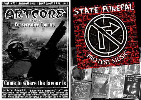 Artcore 30 with STATE FUNERAL 7""