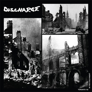 Discharge - Live In Toronto 12""