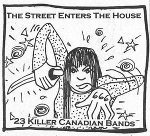 v/a The Street Enters The House comp. cd