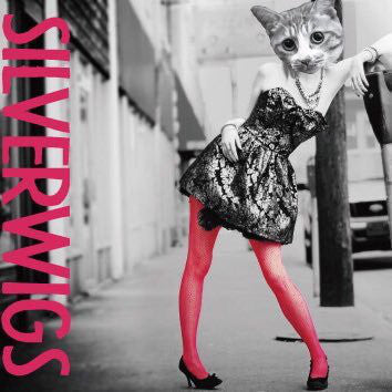 Silverwigs 1st album cat head lady with pink tights