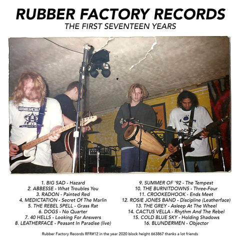 Rubber Factory Records The First 17 Years compilation