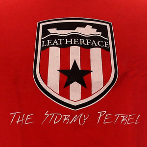 Leatherface - The Stormy Petrel shirt