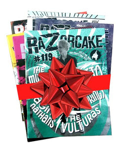Razorcake 3 issue bundle!