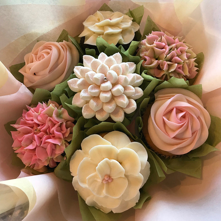Cupcake bouquets edible floral gifts summer morning izmirmasajfo