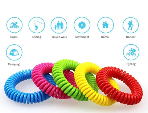 10Pcs/Pack Mosquito Repellent Bracelets - Above Ambition