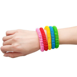 10Pcs/Pack Mosquito Repellent Bracelets