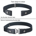 Image of Comfy Buckle-Free Elastic Belt For Woman/Men