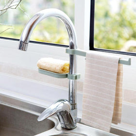 Sink Soap & Cloth Hanging Organizer