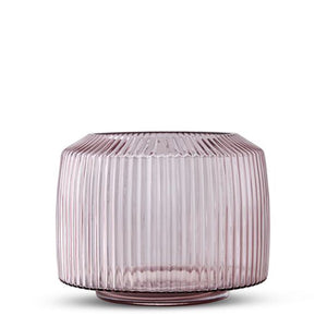 Pleat Vase Rose (XL) - Folke & Freya