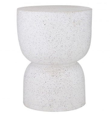 Terrazzo hourglass Side Table/Stool