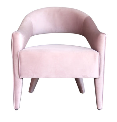 Tubby Chair - Mauve