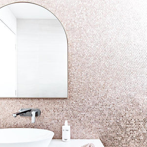 Bjorn Arch Mirror - Powder