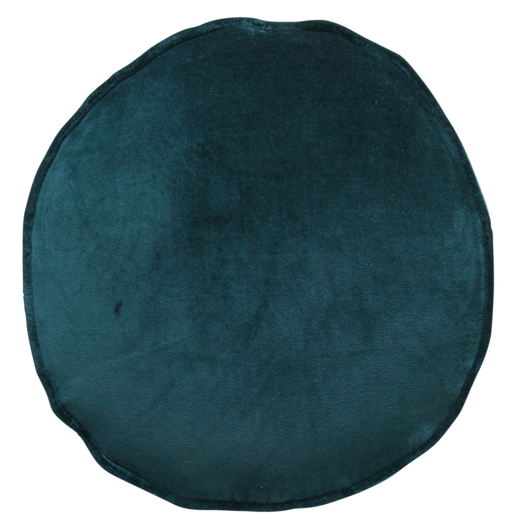 Alpine Green Velvet Pea Cushion - Folke & Freya
